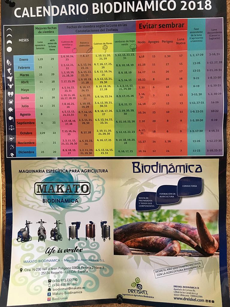 ビオディナミカレンダー
